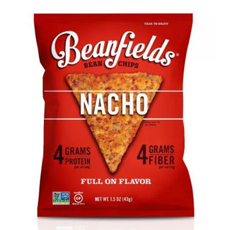 Beanfields Cheesy Nacho Chips - Small 1.5 oz. bag LARGE