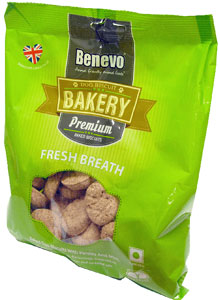 Benevo Premium Baked Fresh Breath Dog Biscuits