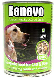 Benevo Duo Canned Vegan Cat and Dog Food