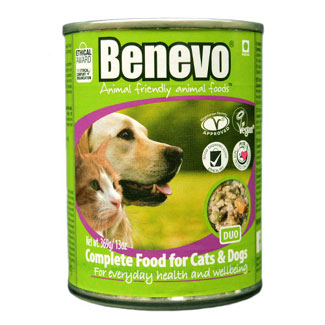 Benevo Duo Canned Vegan Cat and Dog Food MAIN