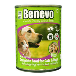 Benevo Duo Canned Vegan Cat and Dog Food - 12 can case THUMBNAIL