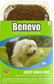 Benevo Dog Grain-Free Vegetable Feast With Mixed Herbs