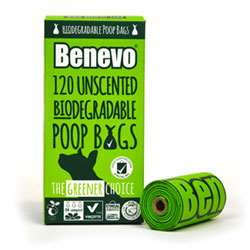 Benevo Biodegradable Poop Bags THUMBNAIL