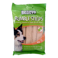 Benevo Rumble Strips Dog Chews THUMBNAIL