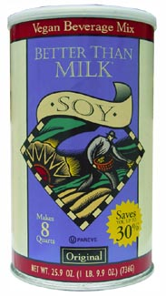 Better Than Milk Soy Beverage Mix