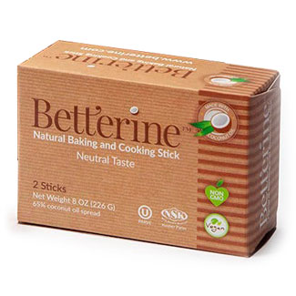 Betterine Natural Baking and Cooking Stick - 2 stick box MAIN