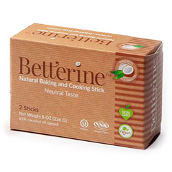 Betterine Natural Baking and Cooking Stick - 2 stick box THUMBNAIL
