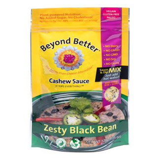 Organic Cashew Cheese & Black Bean Dip by Beyond Better MAIN