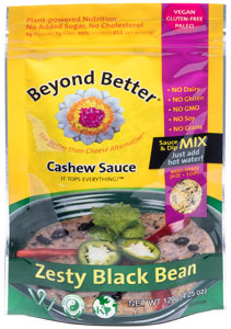 Organic Cashew Cheese & Black Bean Dip by Beyond Better