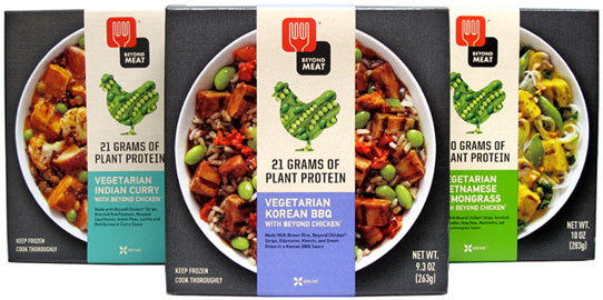 Beyond Meat Bowl Meals