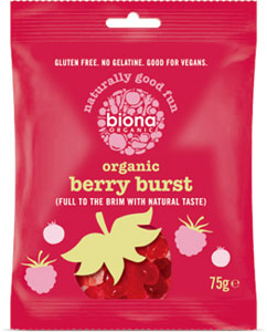 Biona Organic Berry Burst Fruit Gummy Candies