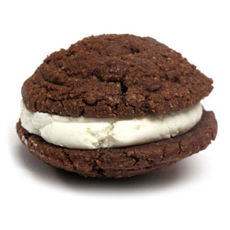 Cocoa Pie Cookie Cream Sandwiches by Bit Baking Co. MAIN
