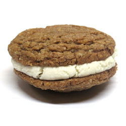 Bit-O-Pies Pumpkin Pie Cookie Cream Sandwiches by Bit Baking Co. THUMBNAIL