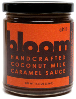 Bloom Handcrafted Coconut Milk Chili Caramel Sauce