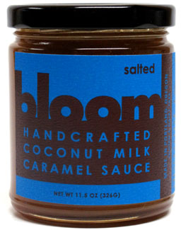 Bloom Handcrafted Salted Caramel Sauce LARGE