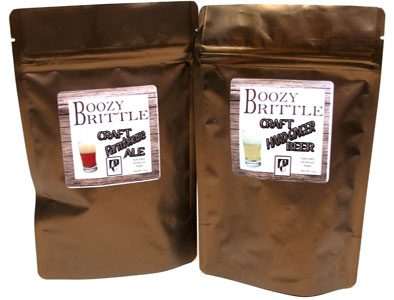 Boozy Brittle Hand-Crafted Vegan Brittles by Chocolate Inspirations