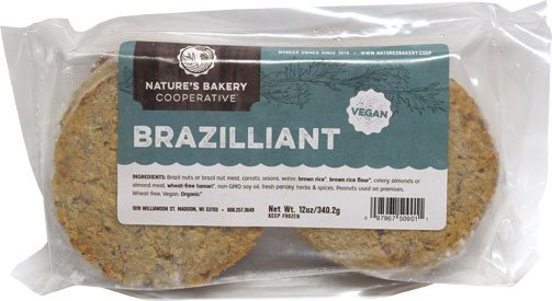 Brazilliant Burgers by Nature's Bakery Cooperative