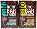 BROO Craft Beer Shampoo Bars