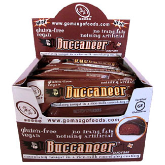 Buccaneer Candy Bar by Go Max Go Foods - box of 12 MAIN