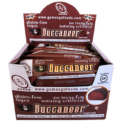 Buccaneer Candy Bar by Go Max Go Foods - box of 12 THUMBNAIL