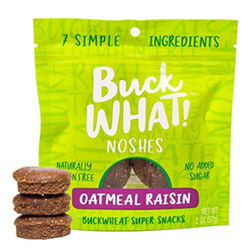 BuckWhat! Oatmeal Raisin Noshes THUMBNAIL