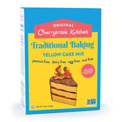 Cherrybrook Kitchen Yellow Cake Mix THUMBNAIL