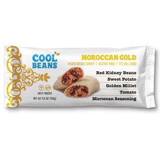 Cool Beans Plant Based Wrap - Moroccan Gold MAIN