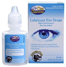Lubricant Eye Drops by Clear Conscience