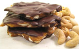 Chocolate Cashew Brittle by Chocolate Inspirations