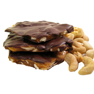 Chocolate Cashew Brittle by Chocolate Inspirations MAIN