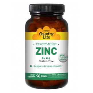 Country Life Target-Mins Zinc - 50mg tablets MAIN