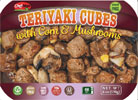 Meatless Teriyaki Cubes with Corn and Mushrooms by ChefMan
