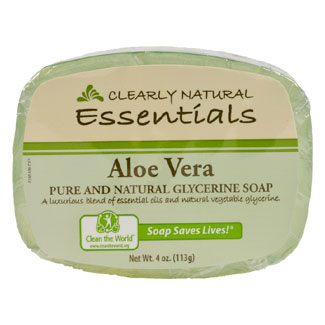 Clearly Natural Glycerine Soap - Aloe Vera MAIN