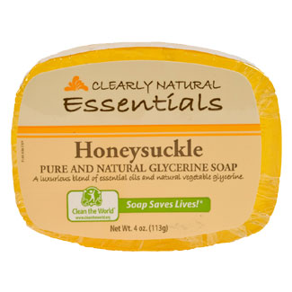 Clearly Natural Glycerine Soap - Honeysuckle MAIN