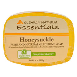 Clearly Natural Glycerine Soap - Honeysuckle THUMBNAIL