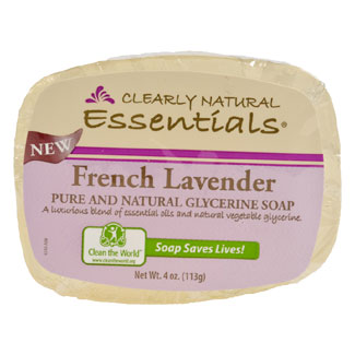 Clearly Natural Glycerine Soap - Lavender MAIN