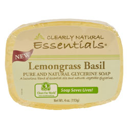 Clearly Natural Glycerine Soap - Lemongrass Basil THUMBNAIL