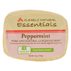 Clearly Natural Glycerine Soap - Peppermint THUMBNAIL