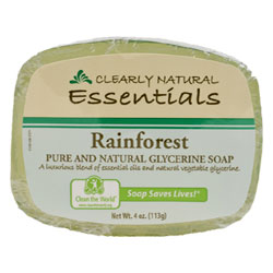 Clearly Natural Glycerine Soap - Rainforest THUMBNAIL