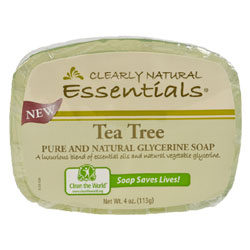 Clearly Natural Glycerine Soap - Tea Tree THUMBNAIL