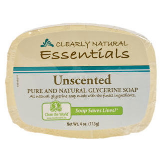 Clearly Natural Glycerine Soap - Unscented MAIN