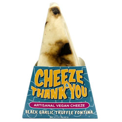 Cheeze & Thank You Artisanal Black Garlic Truffle Fontina THUMBNAIL