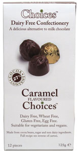 Caramel Choices Dairy-Free Confections LARGE