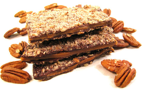 Vegan English Toffee by Chocolate Inspirations LARGE