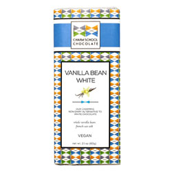 Charm School Chocolate Original Vanilla Bean White Bar THUMBNAIL