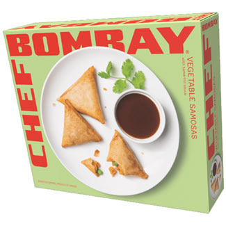 Chef Bombay Mini Vegetable Samosas with Tamarind Sauce MAIN