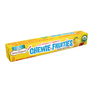 Chewie Fruities Organic Candy Packs by Torie & Howard - Meyer Lemon & Raspberry MAIN