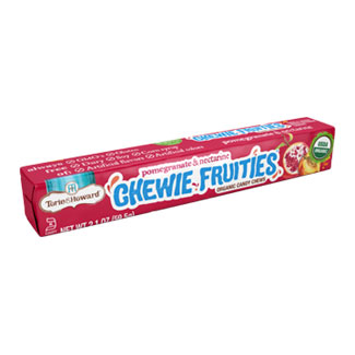 Chewie Fruities Organic Candy Packs by Torie & Howard - Pomegranate & Nectarine MAIN