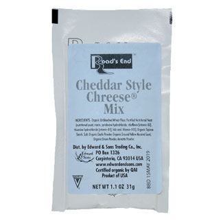 Organic Cheddar ChReese Sauce Mix Packet - 1.1 oz. MAIN