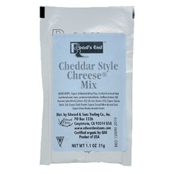 Organic Cheddar ChReese Sauce Mix Packet - 1.1 oz. THUMBNAIL
